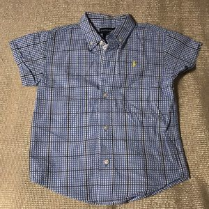 🔥NWT🔥 Ralph Lauren Plaid Dress Shirt